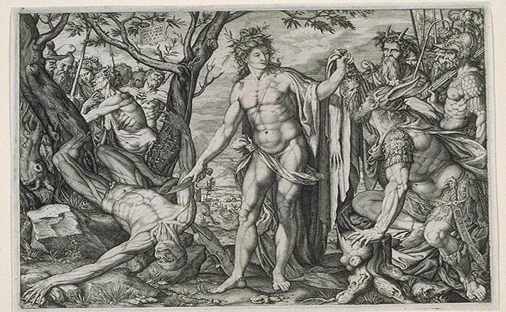 Απόλλωνας, Μαρσύας και Μίδας.